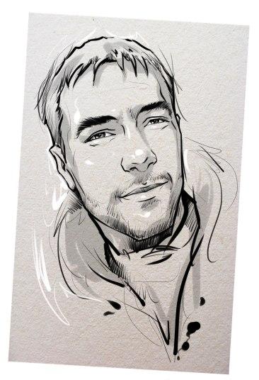 Портрет карандашом любимому мужу в Нижнем Новгороде…