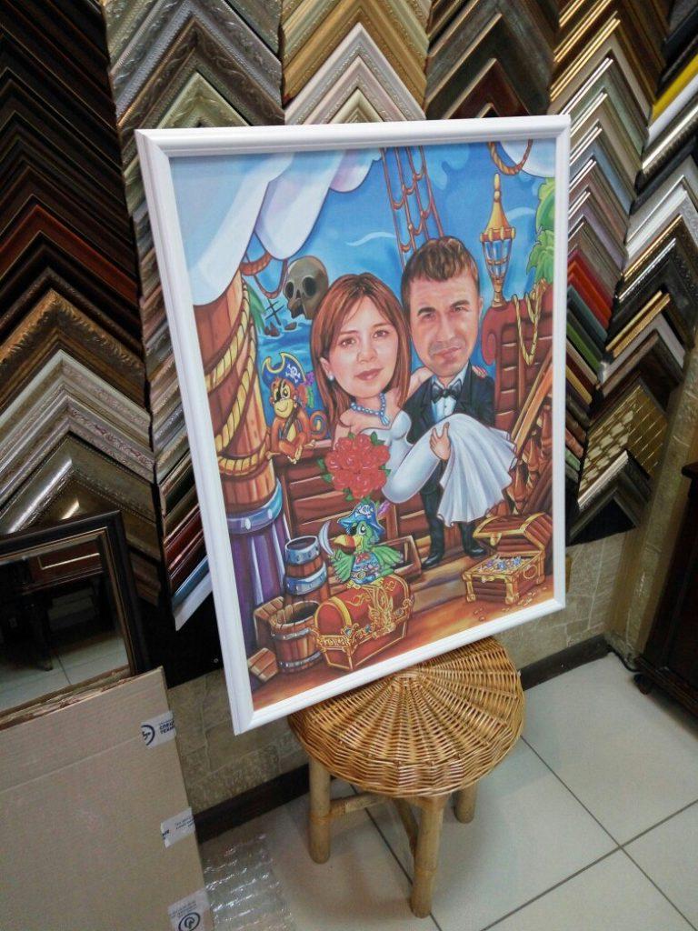 портрет шарж на заказ в нижнем новгороде