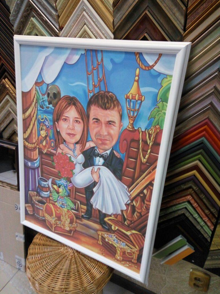 шарж по фото на заказ в нижнем новгороде