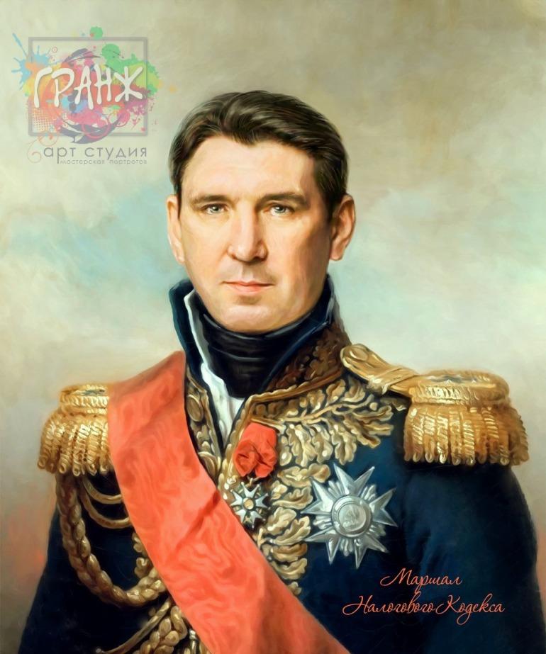 Портрет по фото на холсте в подарок мужчине на 23 февраля Нижний Новгород