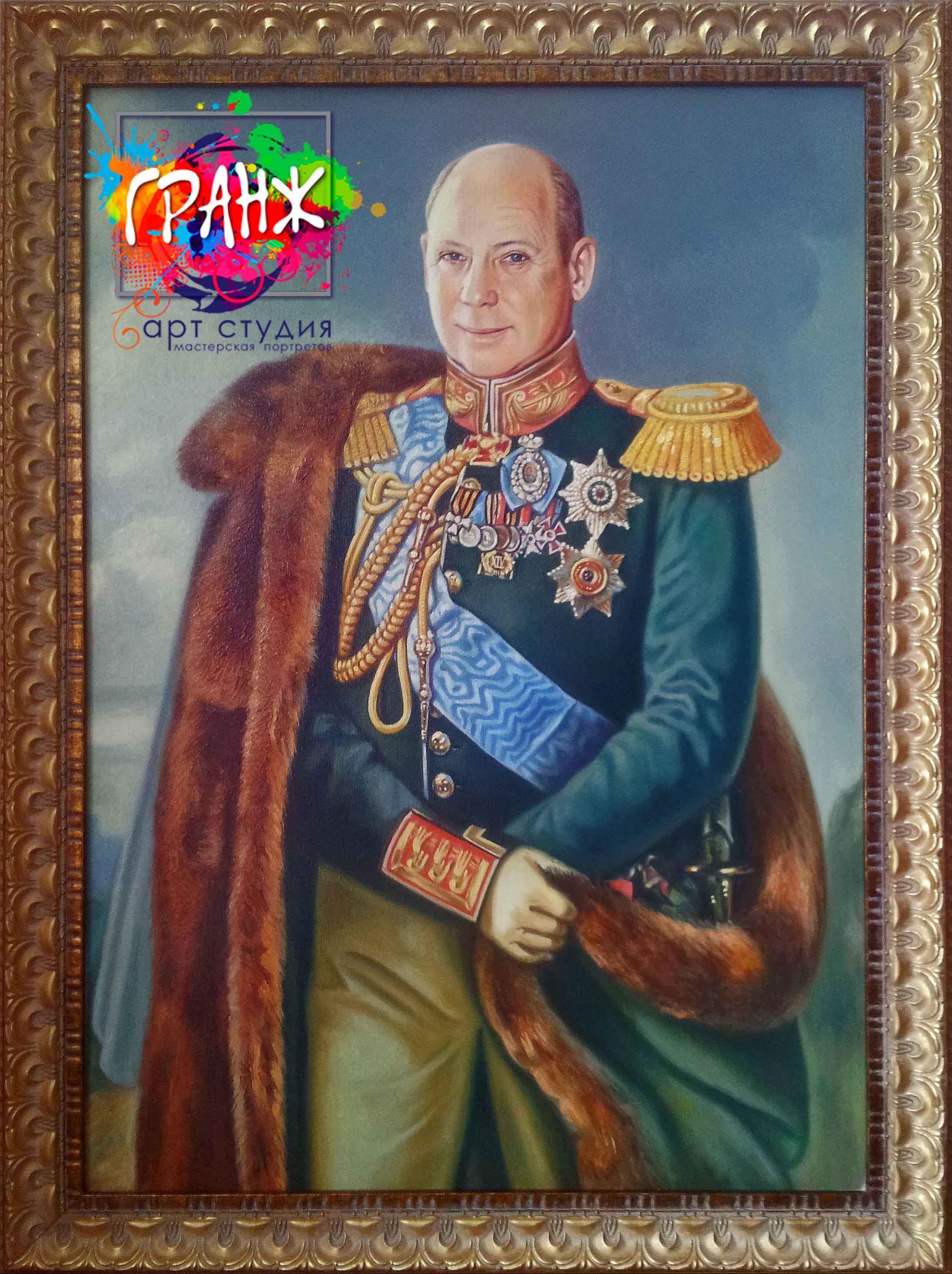 Заказать портрет маслом по фотографии в Нижнем Новгороде