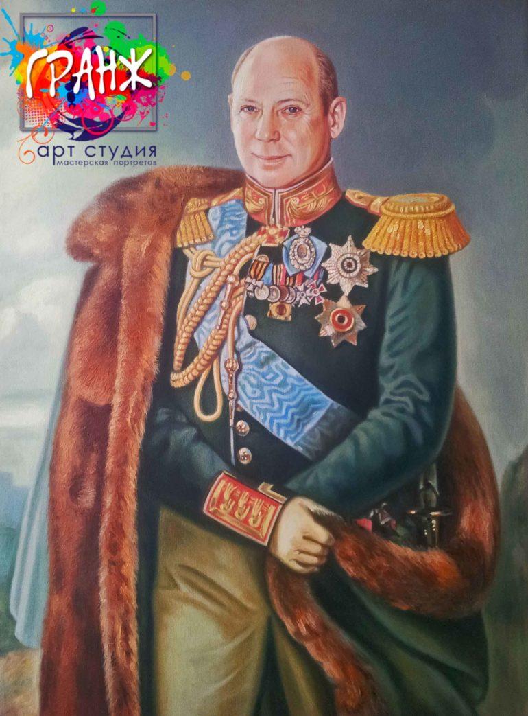 Заказать портрет маслом в Нижнем Новгороде